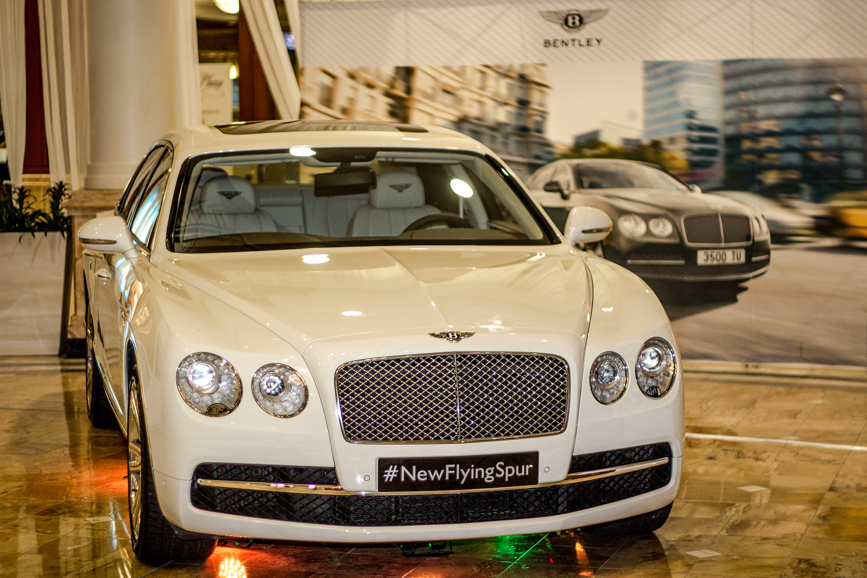 Breitling For Bentley >> Bentley debuts the 2014 Flying Spur at Phipps Plaza – THE ...