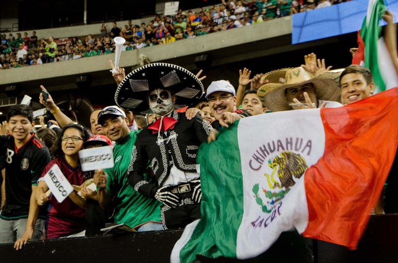 Mexico's last visit to Atlanta equaled a win to advance to the Gold Cup Semifinals. Photo/Anna Lira