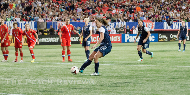 The successful penalty kick by Lauren Holiday/Hakim Wright