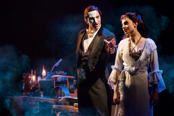 THE PHANTOM OF THE OPERA 1 - Cooper Grodin and Julia Udine - photo by Matthew Murphy-5135