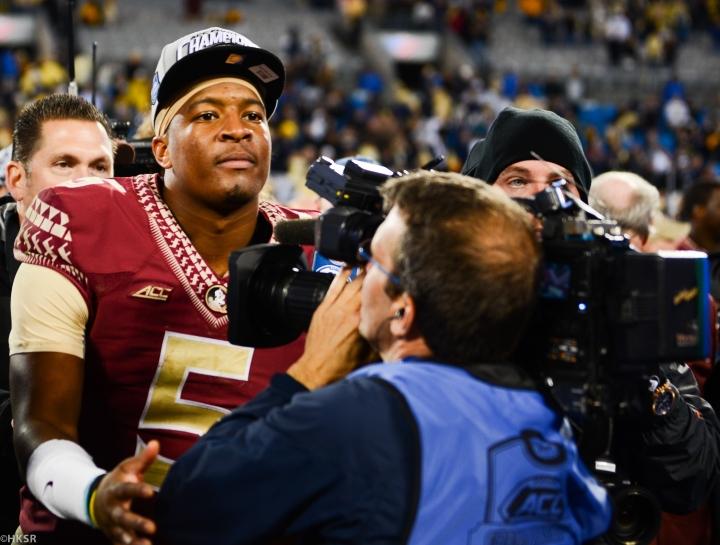 FSU Quarterback Jameis WInston (Hakim Wright/The Peach Review®)