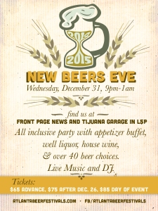New Beers Eve Postcard
