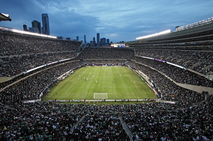 Soldier Field. Courtesy of CONCACAF