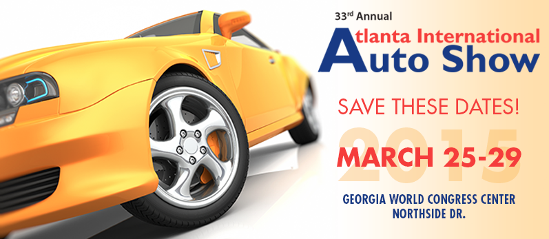 Atlanta International Auto Show Returns In March THE PEACH REVIEW - Car show world congress center atlanta