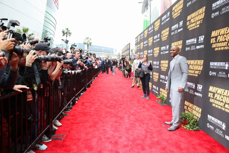 The Red Carpet from the Official Press Conference. (Esther Lin/SHOWTIME)