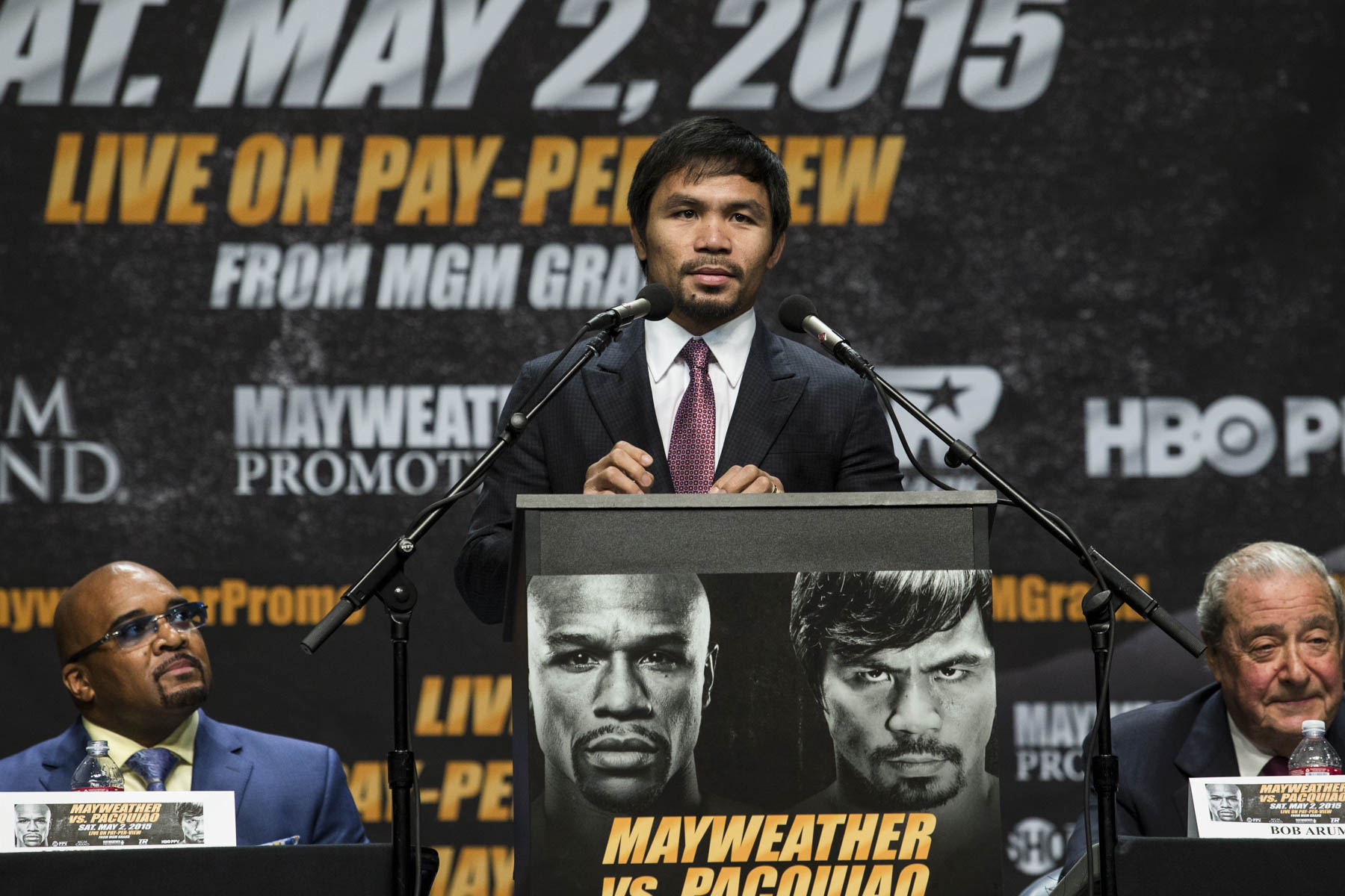 Mayweather vs. Pacquiao: The Fight of the Century – THE PEACH REVIEW®