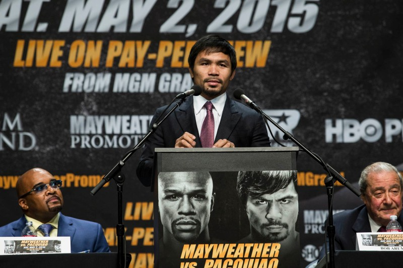 """Manny """"Pacman"""" Pacquiao. (Esther Lin/SHOWTIME)"""
