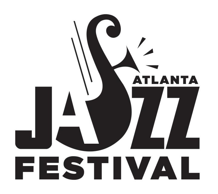 Atlanta Jazz Festival - black logo