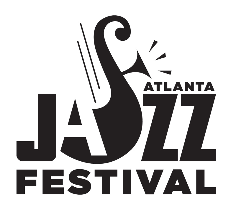 Atlanta Jazz Festival - black logo