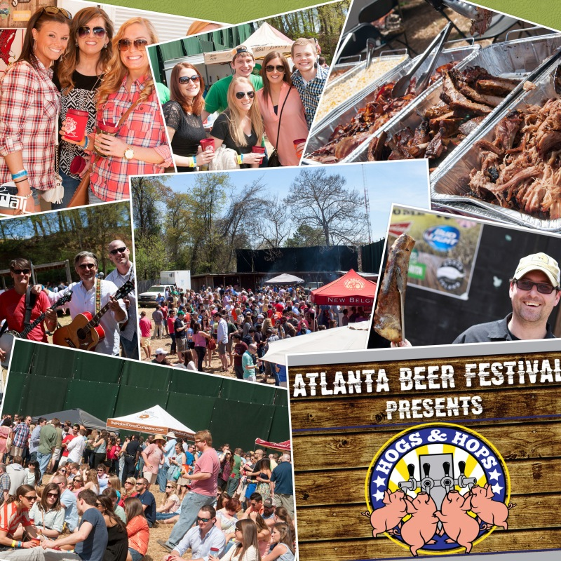 Hogs and Hops Collage 2