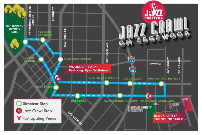 AJF 2015 - Jazz Crawl Map