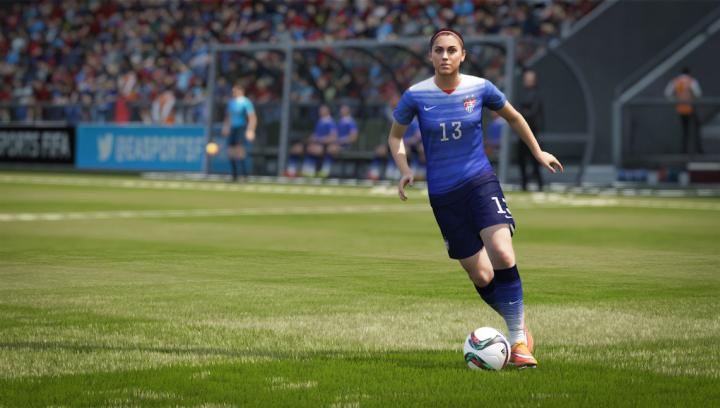 Alex Morgan FIFA 16