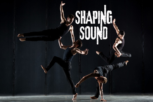 """Renowned choreographers and dance visionaries Travis Wall, Nick Lazzarini, Teddy Forance and Kyle Robinson of the new contemporary dance company Shaping Sound. The stars of the hit television series """"All The Right Moves"""" on Oxygen and Fox's """"So You Think You Can Dance"""" will launch their first live dance experience and national tour May 2013!  (PRNewsFoto/Shaping Sound)"""