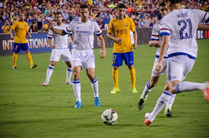 Chelsea vs. Barcelona in Washington D.C., in ICC 2015 (Anna Lira)