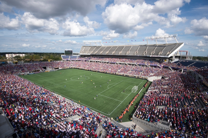 Orlando, FL - October 25, 2015:  The USWNT defeated Brazil 3-1 during the Victory Tour at the Citrus Bowl/ISIphotos