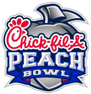 Chickfila Peach Bowl logo
