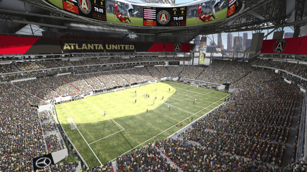 Atlanta united single match tickets to go on sale for for Atlanta airport to mercedes benz stadium