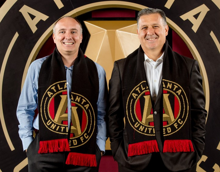 "Darren Eales and Gerardo ""Tata"" Martino"