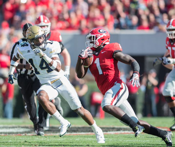 Georgia Georgia Tech Sony Michel