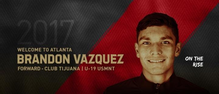 ATLUTD Brandon Vasquez
