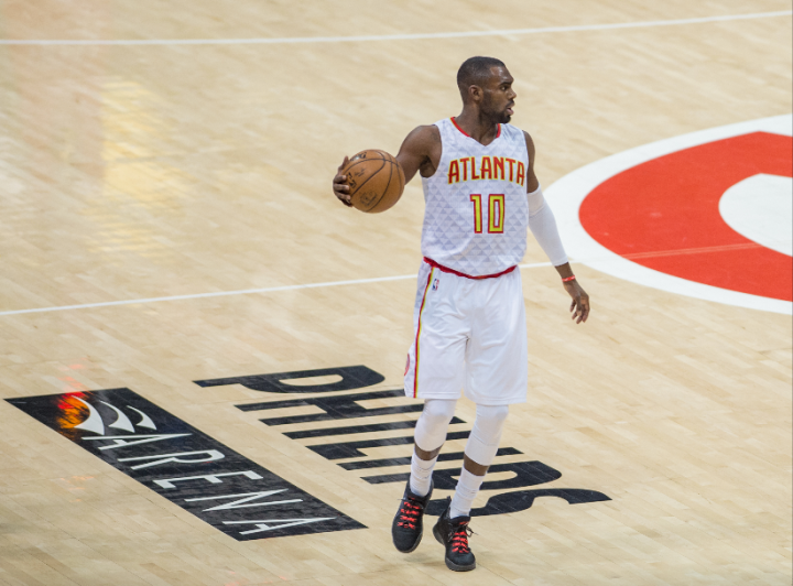 Atlanta's Tim Hardaway Jr. played 57 minutes and scored 19 points in their four-overtime win over the New York Knicks (Hakim Wright)
