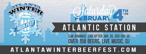 Atlanta winter beer fest 2017
