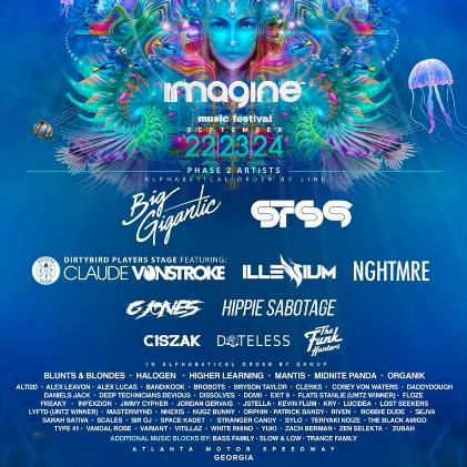 Imagine Fest Final Lineup
