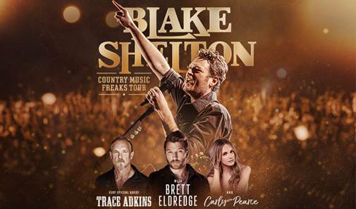 Doing It To Country Songs Tour Blake