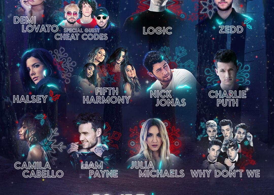 Demi lovato logic and zedd headline power 961s 2017 jingle ball demi lovato logic and zedd headline power 961s 2017 jingle ball m4hsunfo