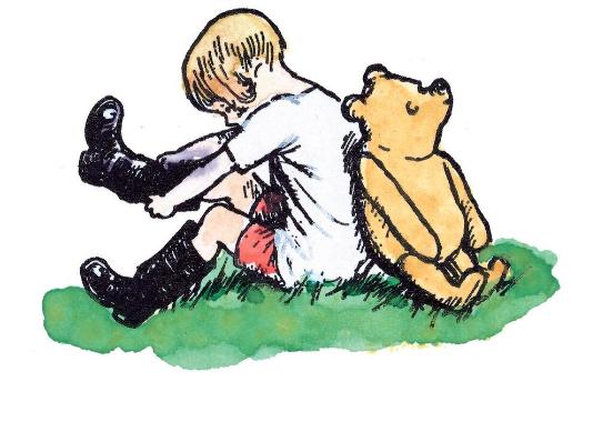 Winnie the pooh exhibit