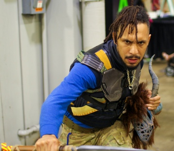 Killmonger cosplay
