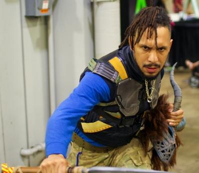 Killmonger cosplay