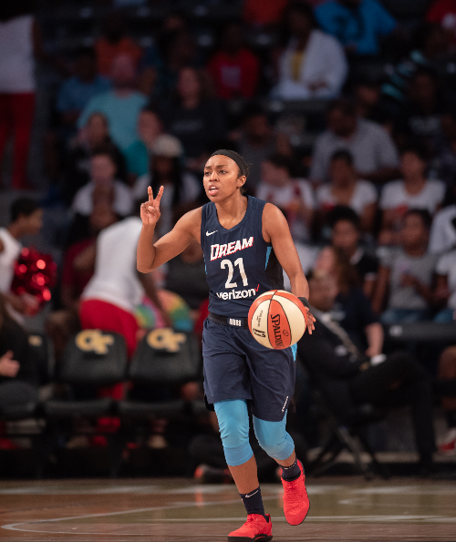 Atlanta Dream Renee Montgomery