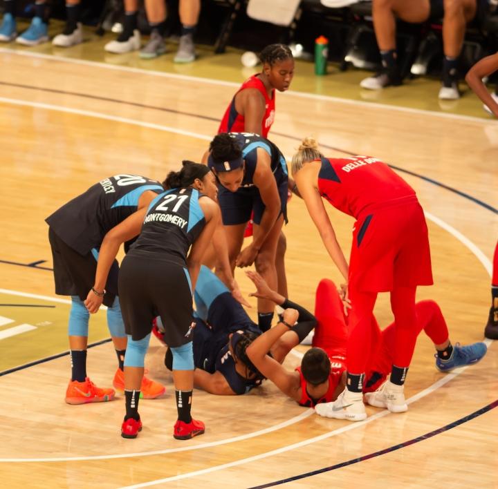 WNBA Playoffs Dream Mystics
