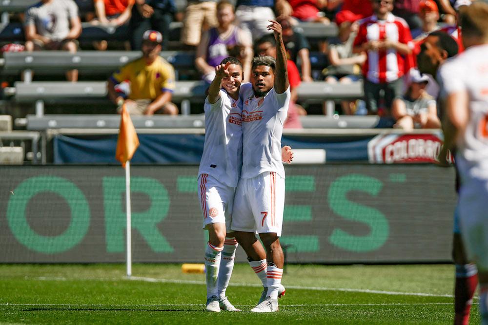 promo code bd0f4 6666b Atlanta United win 3-0 behind Miguel Almirón brace – THE ...