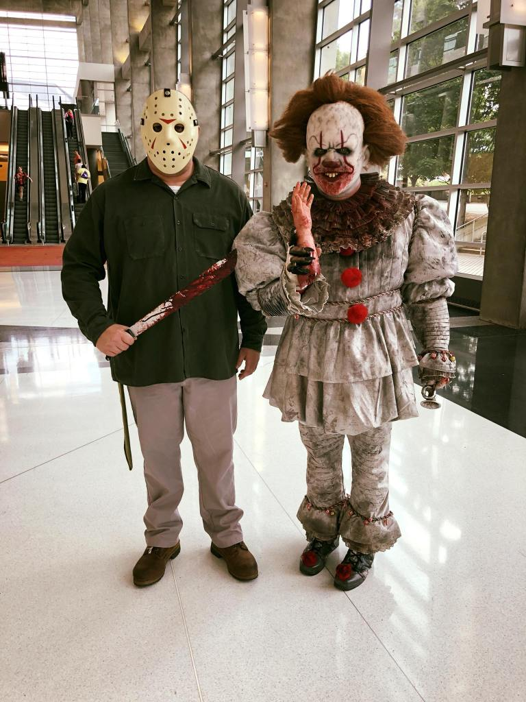 Jason & Pennywise cosplay