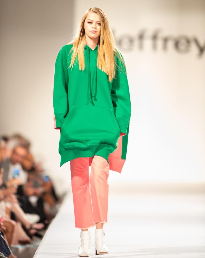 Jeffrey Fashion Cares oversize fashion