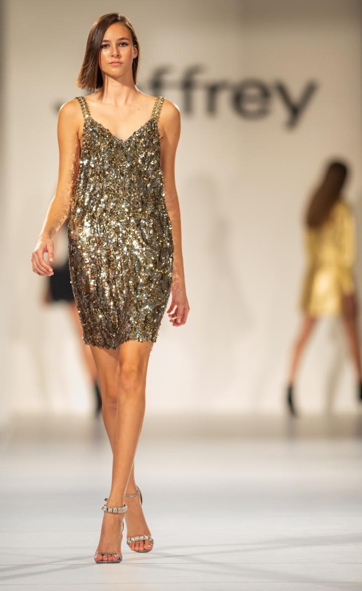 Jeffrey Fashion Cares Sparkle sequins