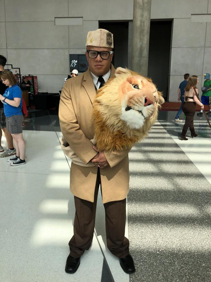 King Joffre Cosplay