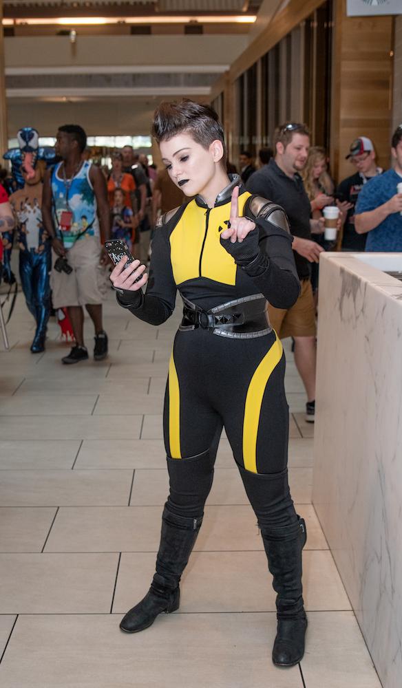 Negasonic teenage warhead cosplay dragon con