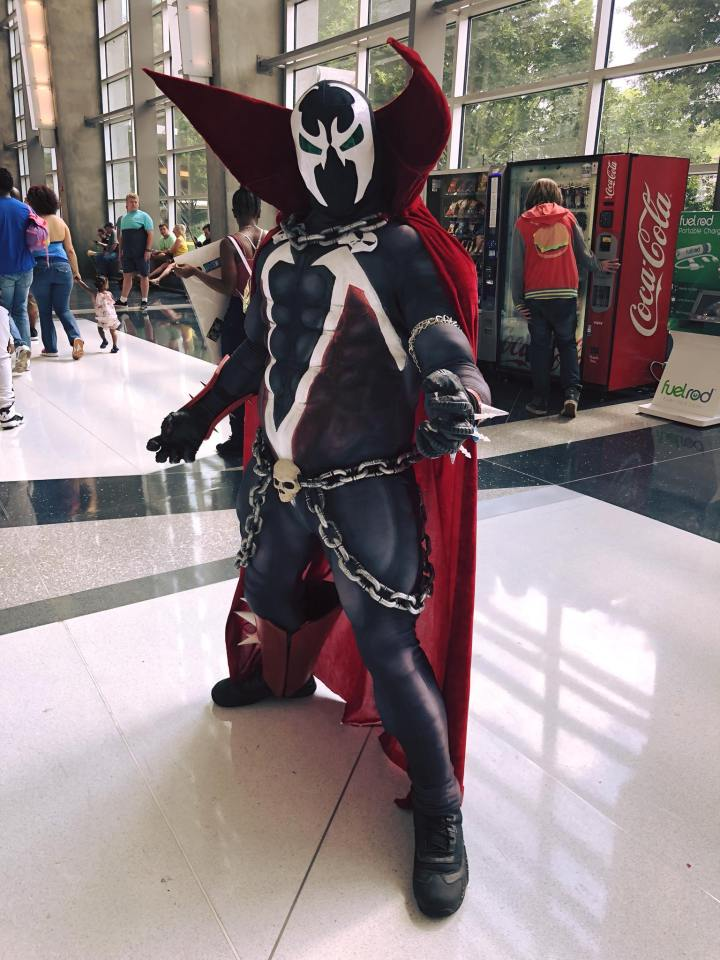 Spawn cosplay Atlanta Comic Con