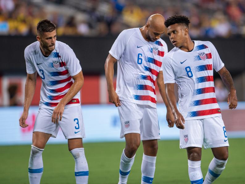 USA vs Brazil USMNT