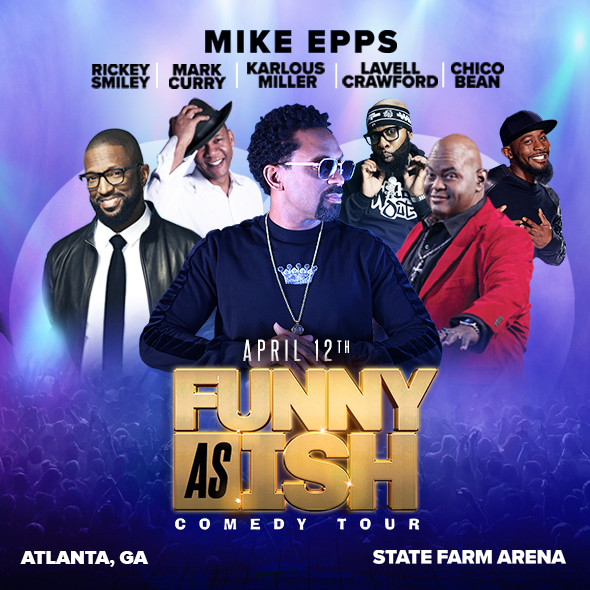 Mike Epps Announces Funny As Ish Comedy Tour Atlanta Date Set For April 12 2019 The Peach Review