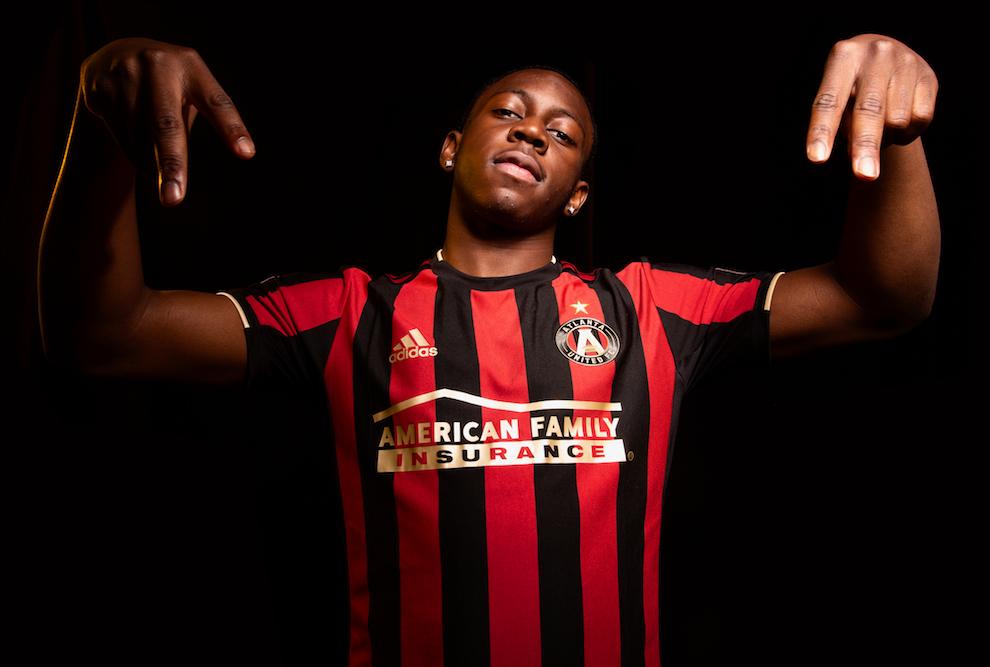 "brand new f1868 46974 Atlanta United unveils ""Stars & Stripes"" kit for 2019 season ..."