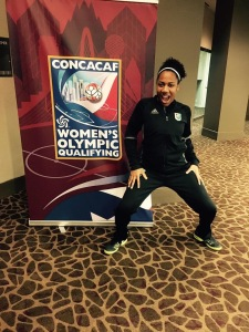Chanté Sandiford CONCACAF Olympic Qualifying