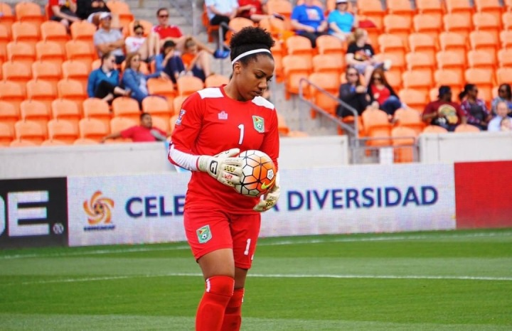 Guyanese Goalkeeper Chanté Sandiford