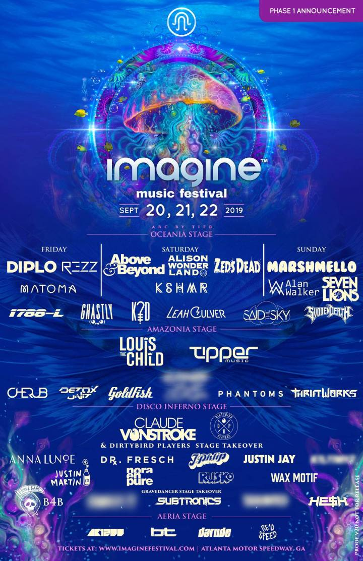 Imagine fest 2019 Phase 1