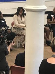 Michelle Obama visits Spelman in Atlanta