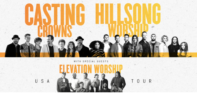 Casting Crowns Tour 2020.Casting Crowns Hillsong Worship And Elevation Worship Will