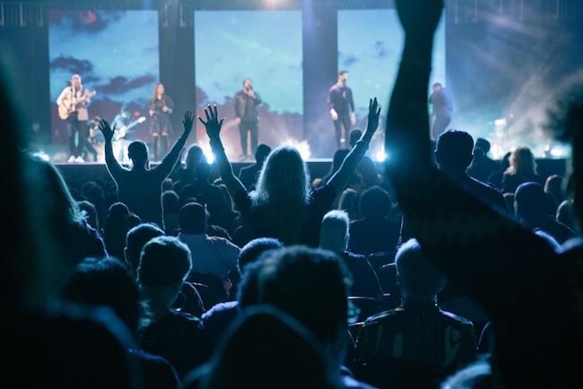A Night Of Hope crowd (Joel Osteen)